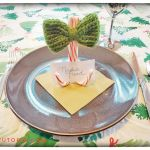 12 Days of Christmas: Candy Cane Place-card Holder with a Bow