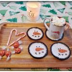 12 Days of Christmas: Snowman Coasters