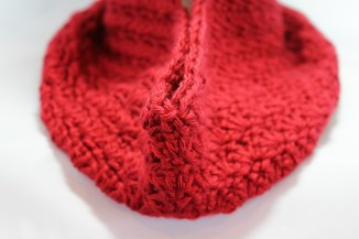 Red Shelly Cowl 4