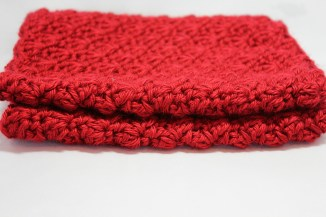 Red Shelly Cowl 5