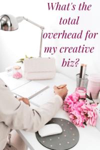 How do I calculate overhead expenses for my handmade biz?