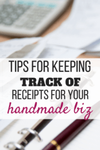 You may hear some folks say that you don't need to keep receipts for expenses under $75.00. I'm going to tell you to keep EVERY one of your receipts