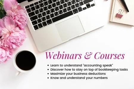 Webinars & Courses