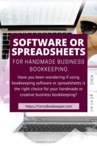 Which should I choose? Software vs. Spreadsheets Let's do a little comparison shall we.  We'll do some Pro's & Cons for each.