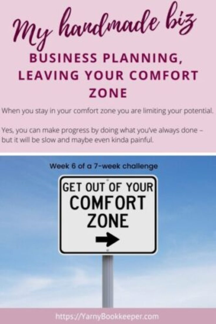 When you stay in your comfort zone you are limiting your potential. Yes, you can make progress by doing what you've always done – but it will be slow and maybe even kinda painful.