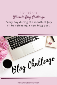 I joined the Ultimate Blog Challenge