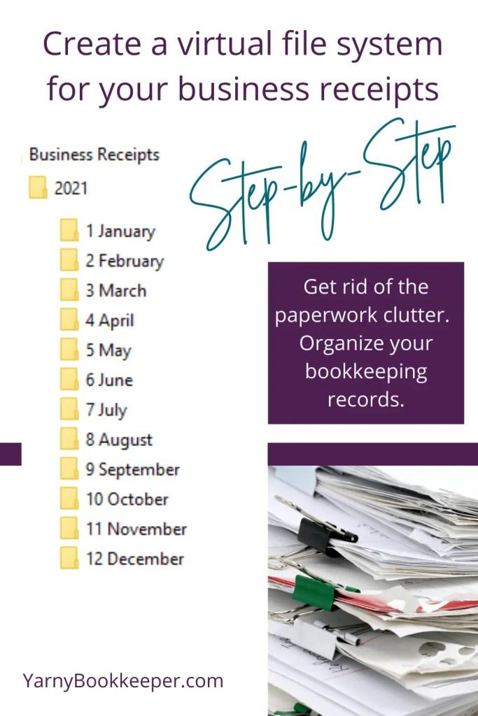 piles of paperwork vs organized bookkeeping paperwork file system