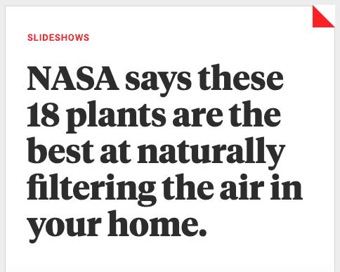 Nasa Plant Article Example