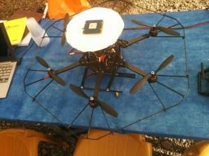 Asctec hexacopter