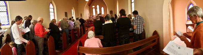 Final Service at St. Albans, Tungamah