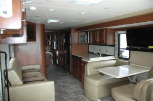 Looking Aft in the Thor Palazzo 33.2