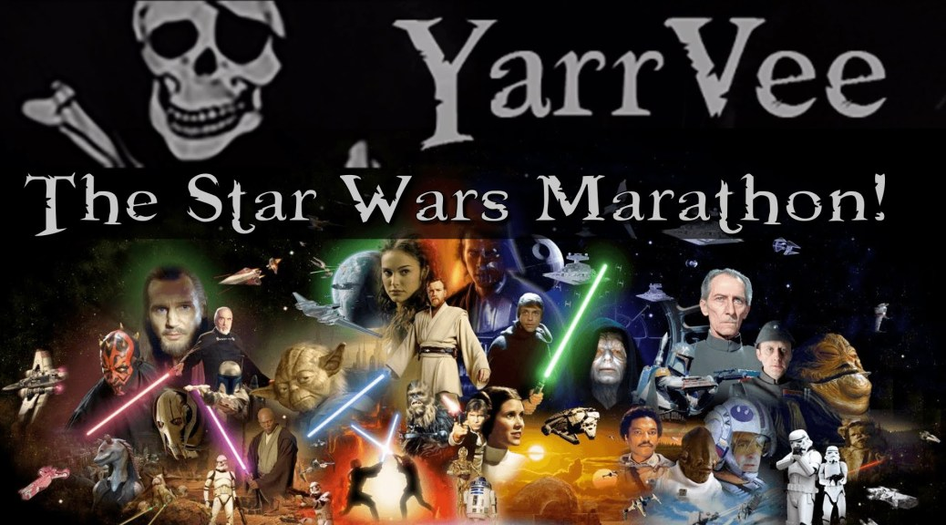 Something Funny Happened On The Way To The Star Wars Marathon