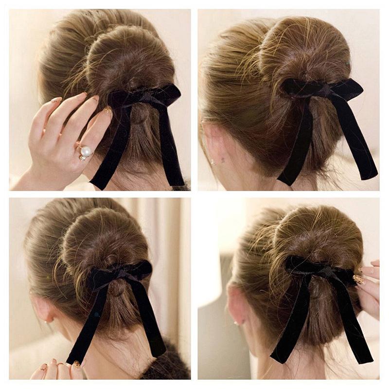 Magic Ribbon French Twist Bun Maker Curler Braid Ponytail