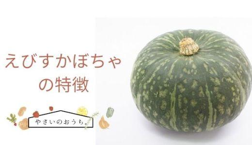 えびすかぼちゃの特徴や旬の時期!味は強い甘味でホクホク系