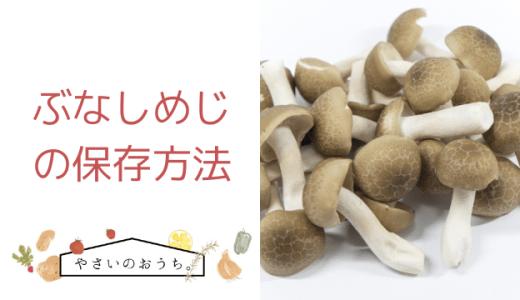 ぶなしめじの保存方法|冷凍・冷蔵・期間と保存食レシピ!旨味もアップ!