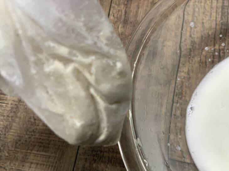 カシューナッツのミルクバック