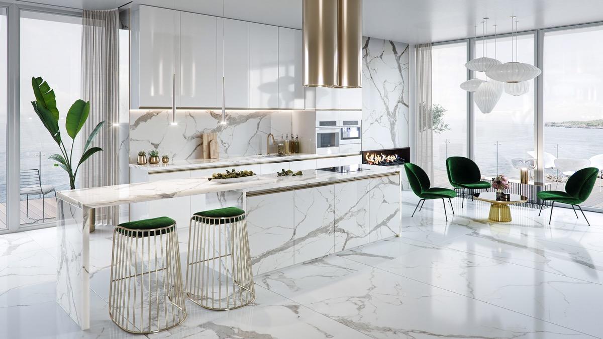 Muhteşem Mutfak Tasarımları