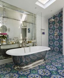 Lüks banyo tasarımı fikirleri