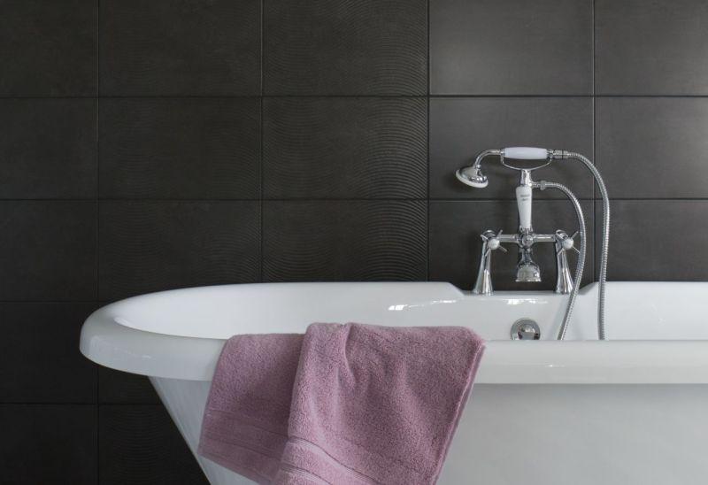 Siyah Banyo Tasarımı ve dekorasyonu