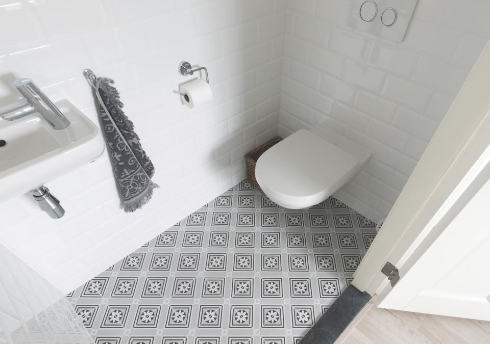 banyo desenli karo