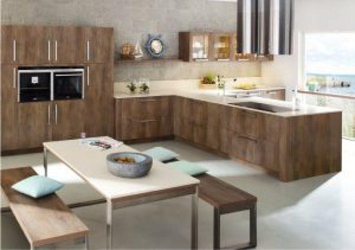 2018 yılı Trend Rustik Mutfak Modelleri 3