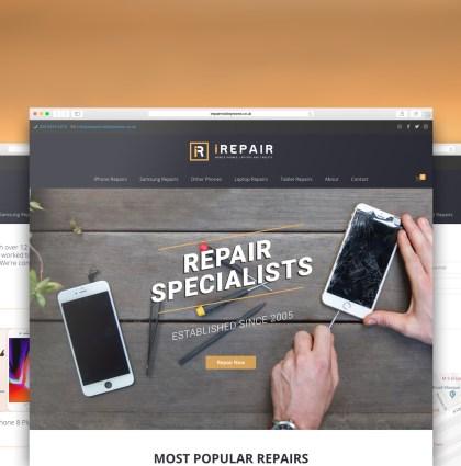 iRepair Website
