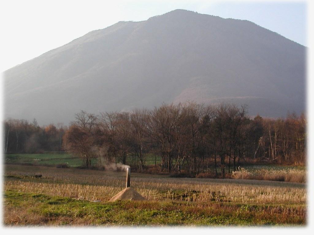 2003年11月19日黒姫開拓地畑