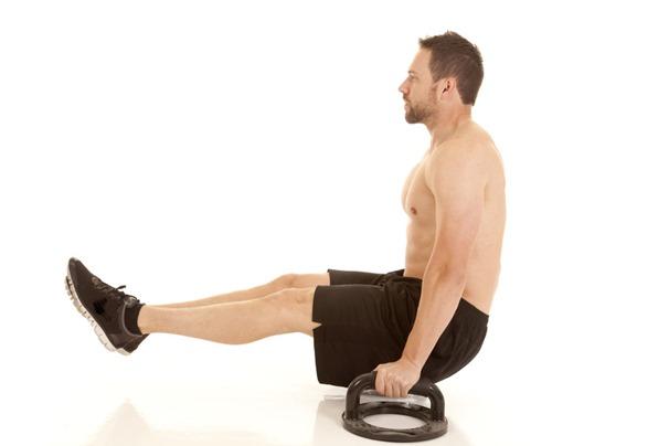 腹筋を鍛える使い方