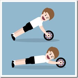 腹筋を鍛える最強器具!腹筋ローラーの効果とおすすめをご紹介