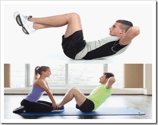 クランチ・シットアップのやり方や効果の違い|器具を使わない腹筋の筋トレ