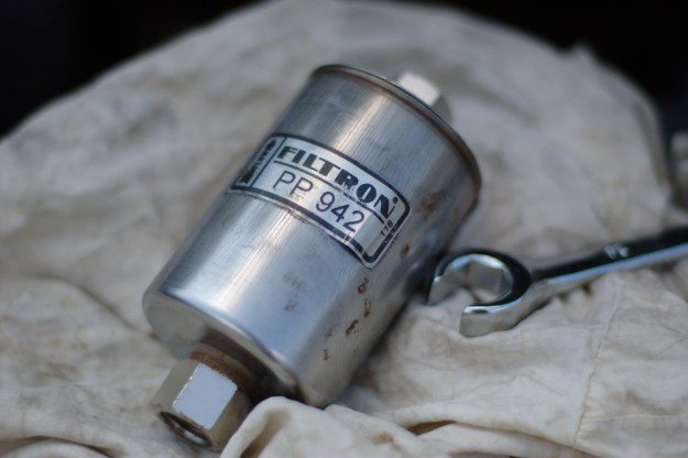 Filtron PP 942 и отворен звездогаечен ключ №14