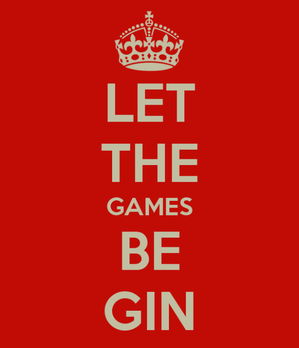 let the games be gin keep calm meme parody remix