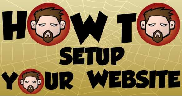 how to setup your website graphic by yasha harari