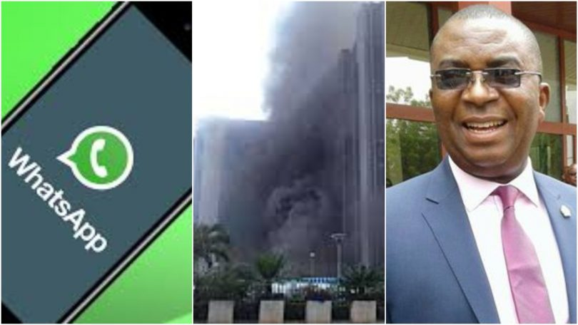 WhatsApp CBN Spokesperson Isaac Okoroafor