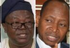 ASUU President, Prof Biodun Ogunyemi and AGF Ahmed Idris