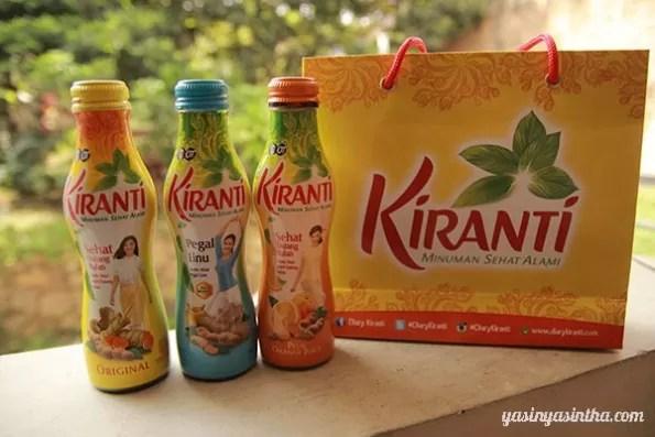 Kiranti, minuman kesehatan