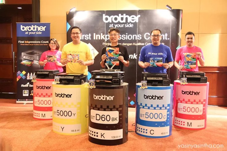 brother indonesia, blogger, event, printer brother