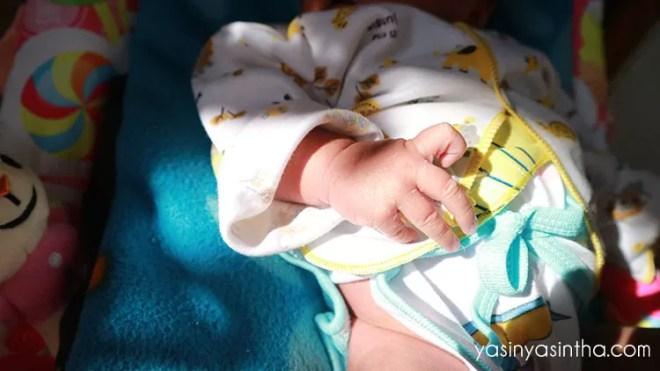 yasinyasintha, blogger bandung, parenting, menjemur bayi