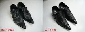 トルネードマート 革靴クリーニング