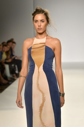 Gyunel: Runway - London Fashion Week SS15