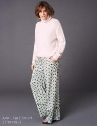 Yasmin Printed Silk Trouser