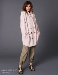 "Merino Wool ""Y"" Stitch Coat"