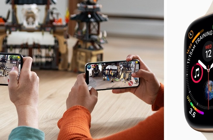ARKit 2 on iOS 12 and Apple Watch Series 4