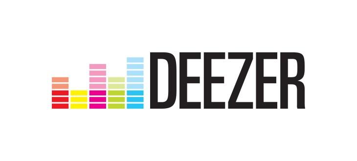 Deezer logo (white background)
