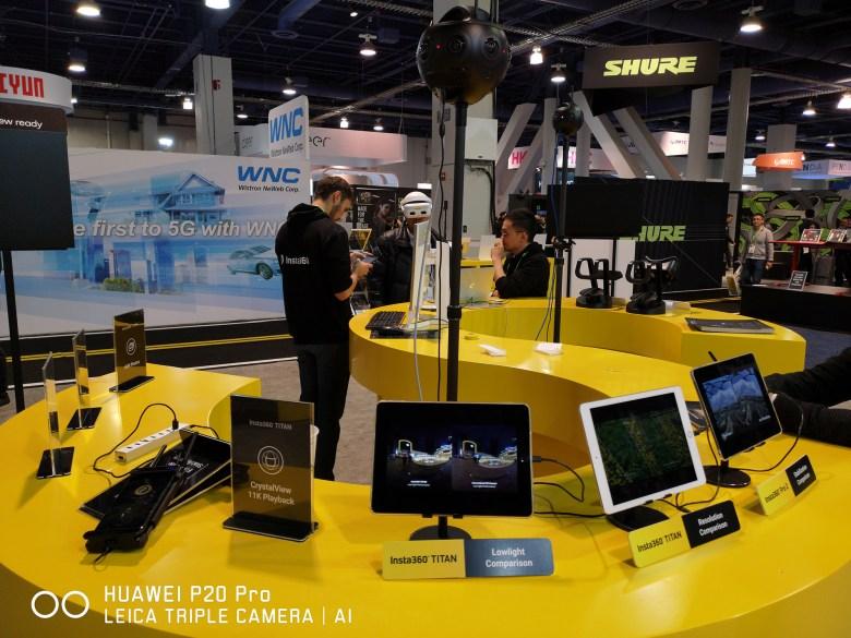 Insta360 Titan unveiled at CES 2019