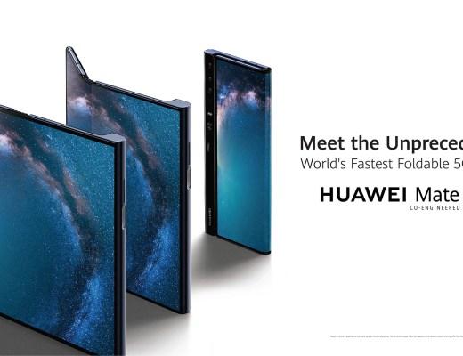 Huawei Mate X handset