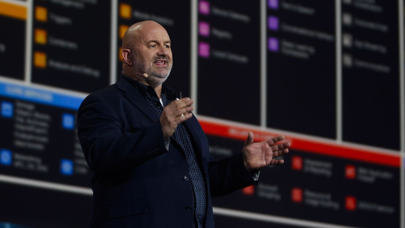 Werner Vogels, CTO Amazon, speaking at the AWS Summit in Dubai (April 2019)