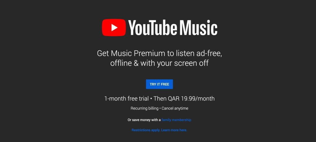 YouTube Music now available across additional countries in the Middle East