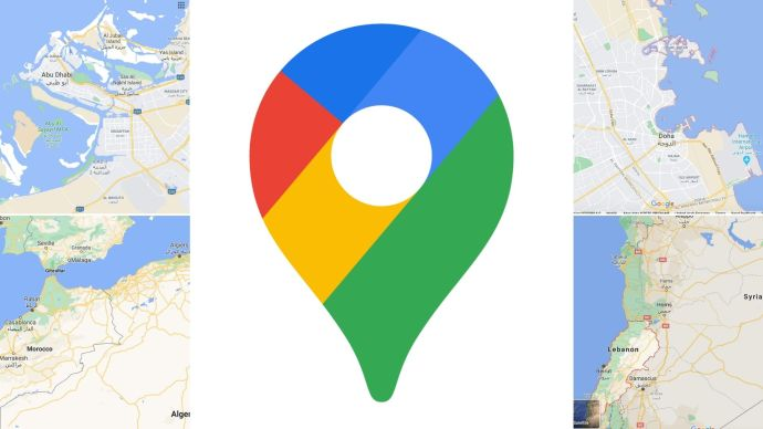 Google Maps visual improvements for Middle East and North Africa