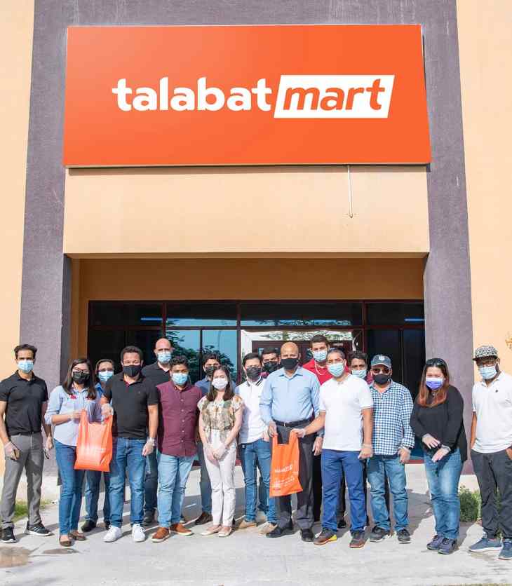 Talabat Mart dark store in Qatar